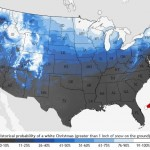 NOAA Map Update – Are you dreaming of a white Christmas?