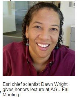 AGU Recognizes Esri Contributions to Science