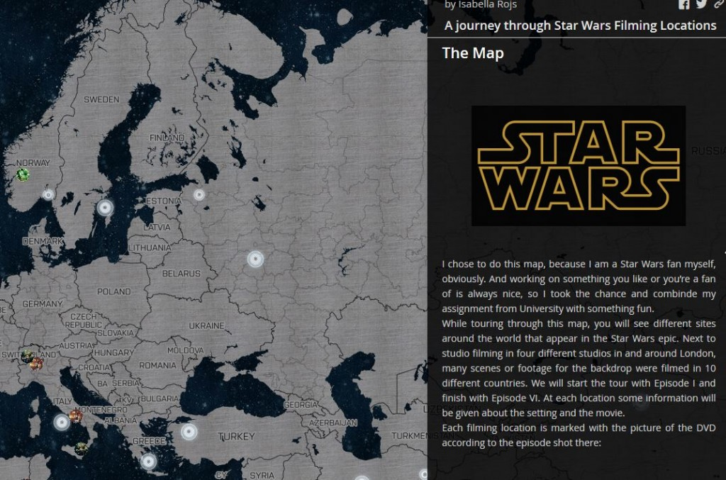 A journey through Star Wars Filming Locations