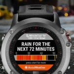 AccuWeather MinuteCast Available in Connect IQ