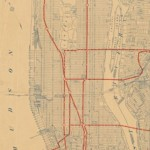 Map of the Day - New York City Transit Map, 1917