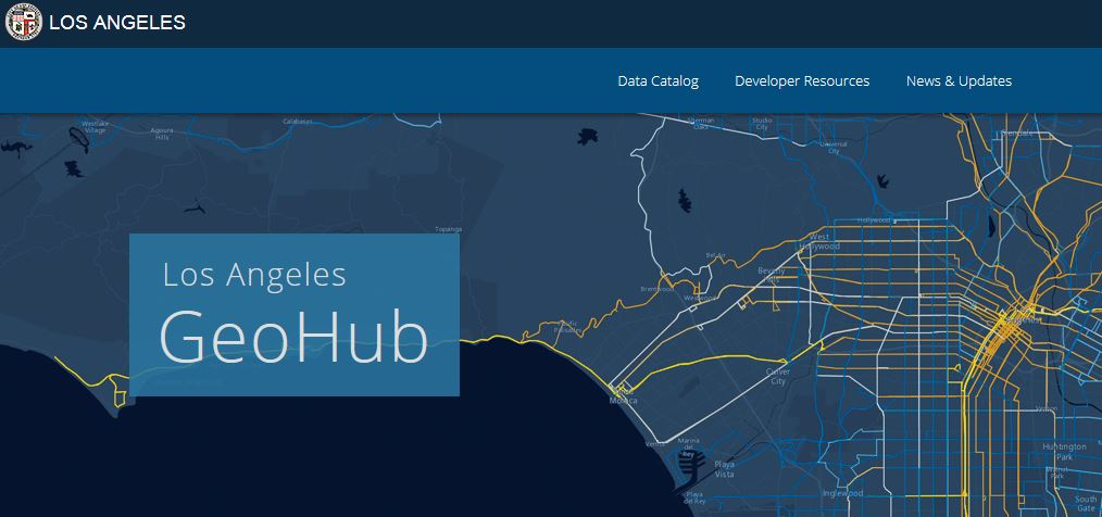 Los Angeles Opens the GeoHub - #OpenData for Citizens and Developers