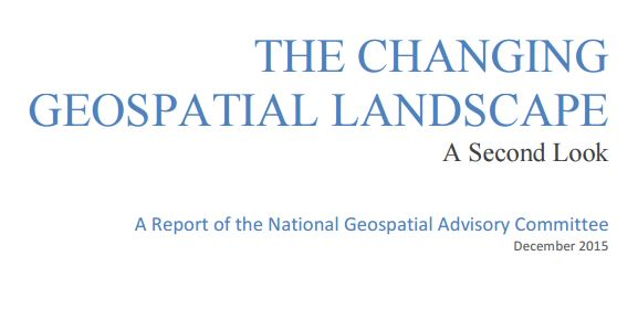 TheChanging Geospatial Landscape
