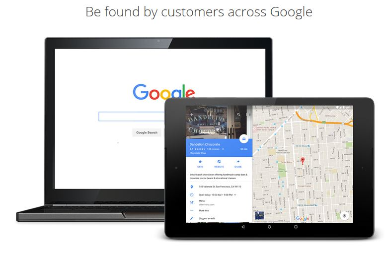 Get your business listed on Google