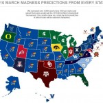 Map of the Day – Favorite March Madness Team For All 50 States