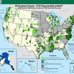 USGS Announces 3D Elevation Program (3DEP) 2016 Awards