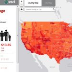 living wage map