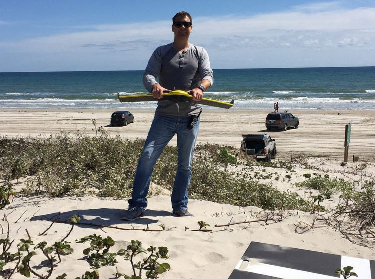 Drone Survey of Seagrasses Tested for Texas Parks & Wildlife