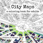 city maps coloring book