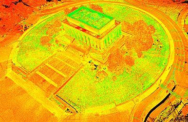 National Mall Employs High Tech Surveying