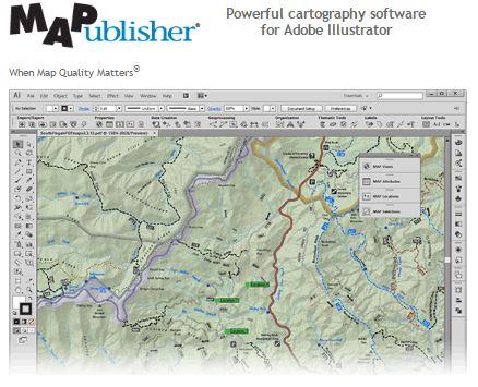 avenza mappublisher