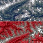 Sentinel-2 Color Infrared and Natural Color Images
