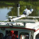 Trimble Revolutionizes Mobile Mapping with MX2 Portable Mobile Mapping System on a Boat