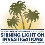 2016 California Association of Licensed Investigators