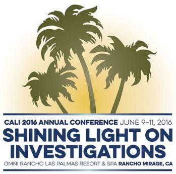2016 California Association of Licensed Investigators