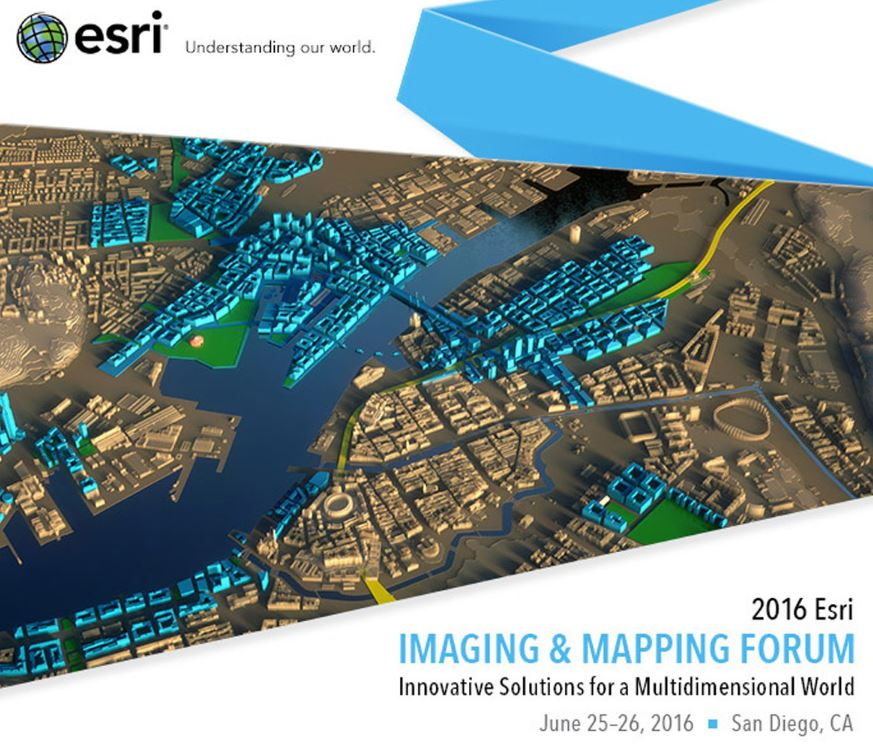 Imaging and Mapping Forum at Esri User Conference