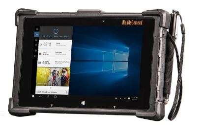First-to-Market Rugged Tablet with 3D Camera