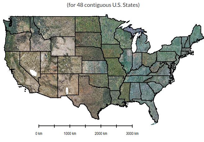 BigData Earth Completes Project On Highresolution Meter - Vegetation map us