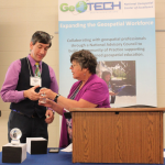 National Geospatial Technology Center Honors Esri Education Manager with Lifetime Achievement Award