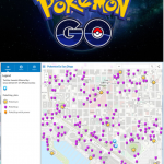 San Diego Gaslamp Map Rolls out map of #PokemonGO STOPS and GYMS Just in Time for Comic Con!