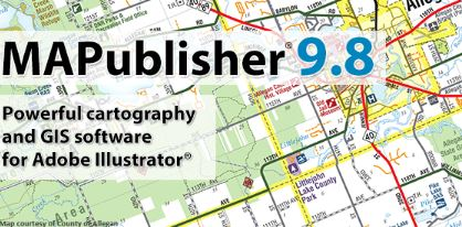 Avenza Releases MAPublisher 9.8 for Adobe Illustrator