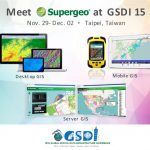 Supergeo Will Showcase Latest Geospatial Solutions at GSDI 15