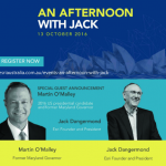 An Afternoon With Esri President, Jack Dangermond, Down-Under