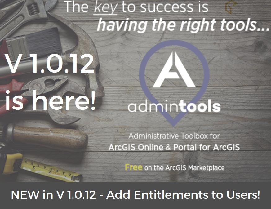 Esri Business Partner, GEO Jobe, Announces Release of Admin Tools V