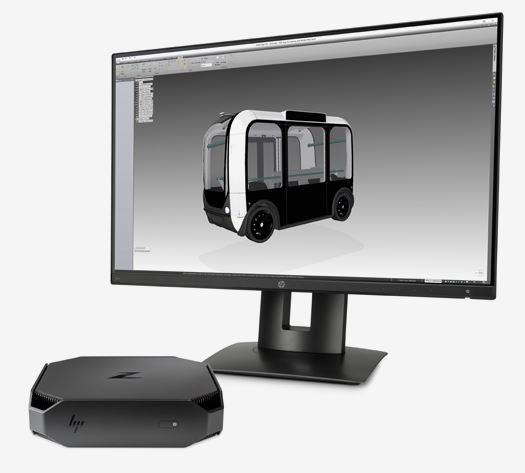 HP mini CAD workstation