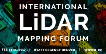 International LiDAR Mapping Forum 2017 Conference Program Announced