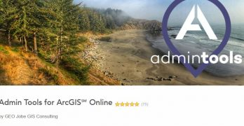 Esri Business Partner, GEO Jobe, Announces Release of Admin Tools V 1.0.13 in the ArcGIS Marketplace