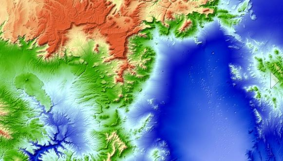 New D World Map TanDEMX Global Elevation Model Completed - World map by elevation