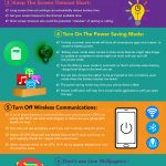 Infographic – 8 Useful Tips To Save Your Smartphone Battery Life