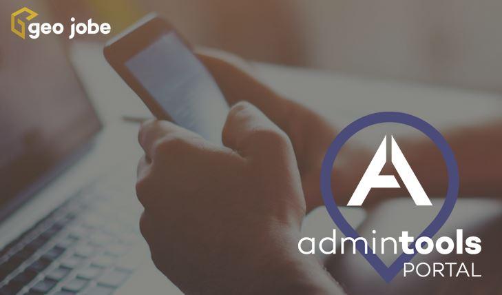 geo jobe, admin tools for Portal