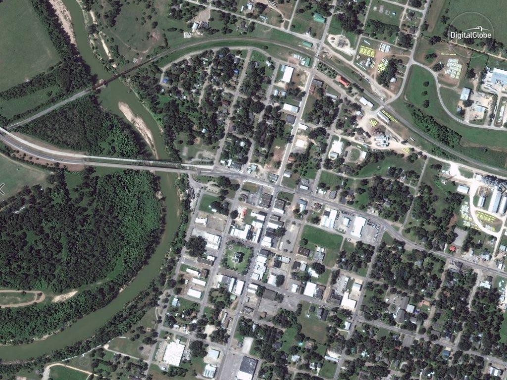 wharton, Texas before hurricane harvey