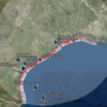 USGS – Many Texas Beaches Likely to Erode, Be Overwashed, or Inundated by Hurricane Harvey