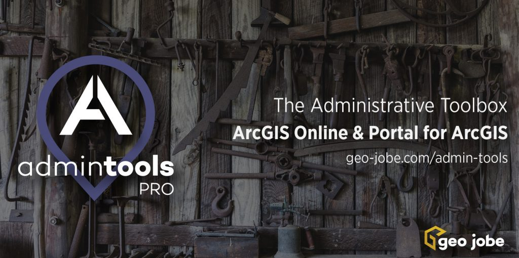 admin tools for arcgis online used in higher education