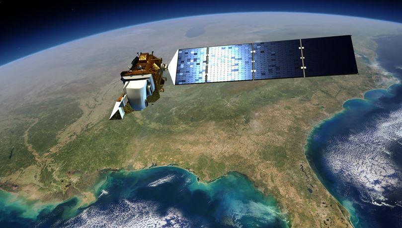 Artist concept of Landsat 8. Image Credit: NASA's Goddard Space Flight Center