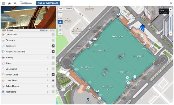 Concept3DPowering Colorado Convention Center's Interactive 3D Map
