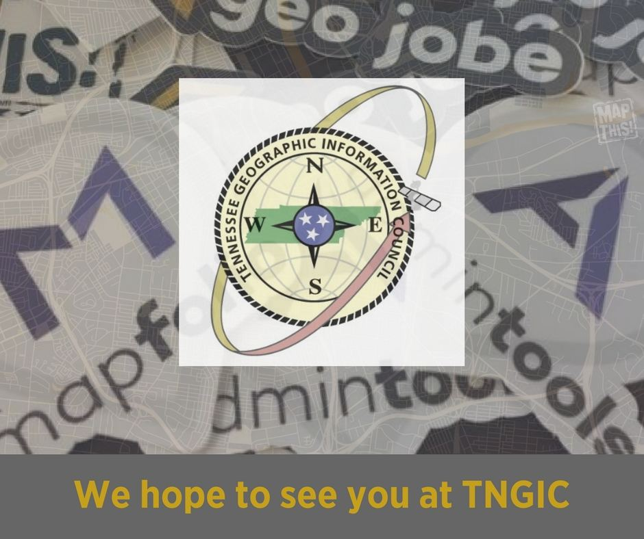 "The Power of GIS, Simplified"" at the 2018 TNGIC Conference"