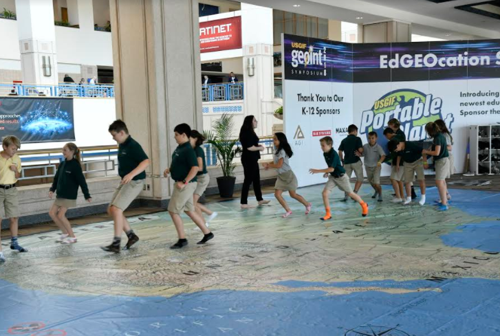K-12 Students Introduced to Geospatial Sciences at GEOINT 2018