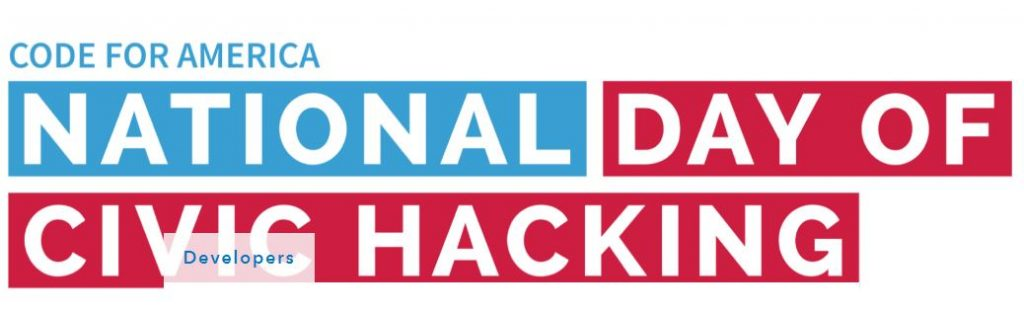 National Day of Civic Hacking - August 11, 2018