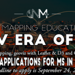 Master of Science in Digital Mapping – NEW online program from New Maps Plus!