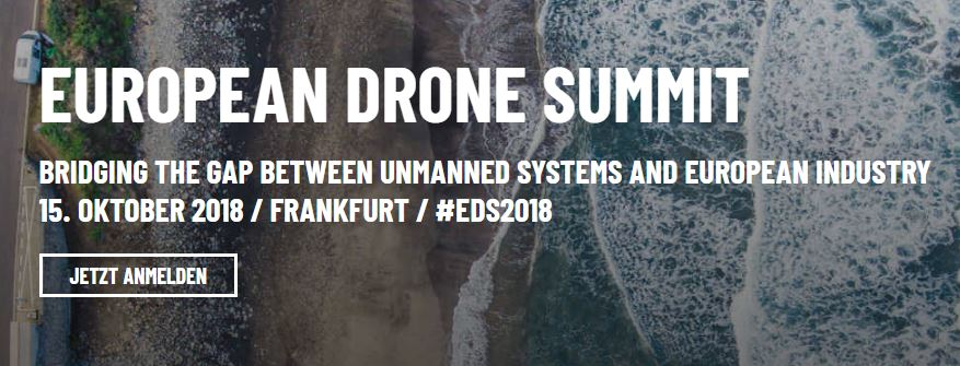Europe's most important drone conference 2018
