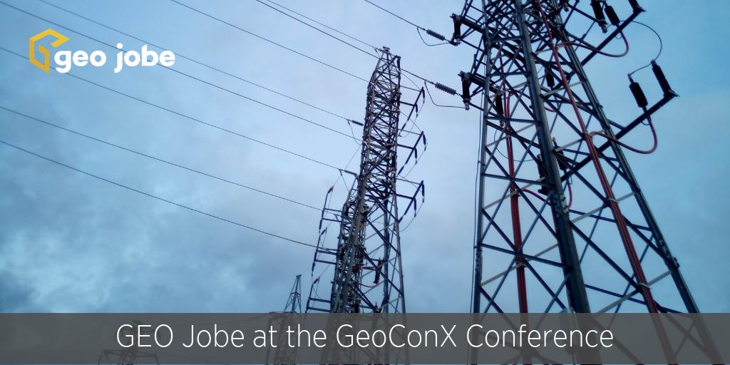 GEO Jobe at the 2018 Esri GeoConX Conference