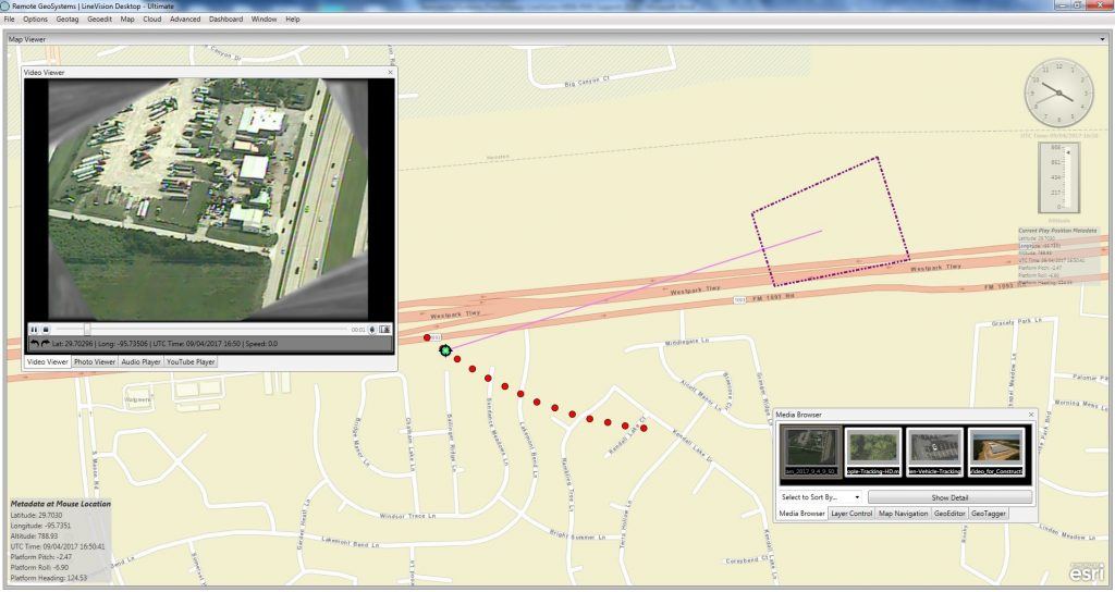 Remote GeoSystems Adds MISB Full Motion Video (FMV) Support to LineVision Desktop