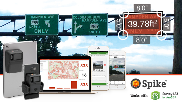 Webinar: Esri Mobile Apps & Spike Photo Measurement