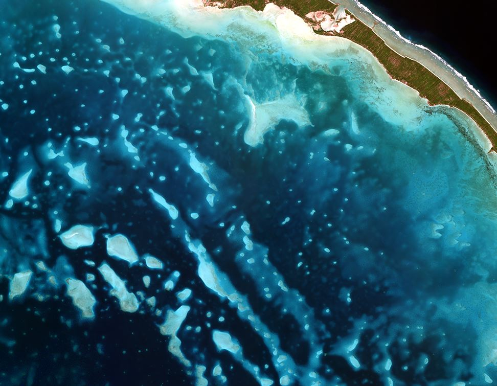 TCarta Wins Contract to Map Seafloor around Remote Pacific Island Nation