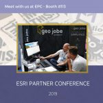 """GEO Jobe to share """"The Power of GIS, Simplified"""" at the 2019 Esri Partner Conference (EPC)"""
