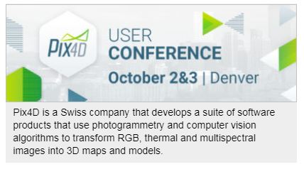 Pix4D Announces First User Conference in Denver, Colorado